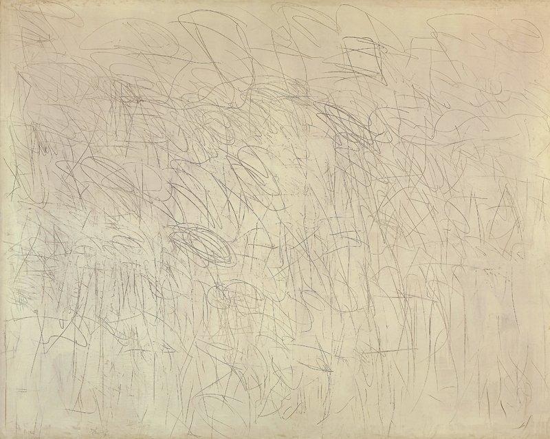 Cy Twombly Academy 1955