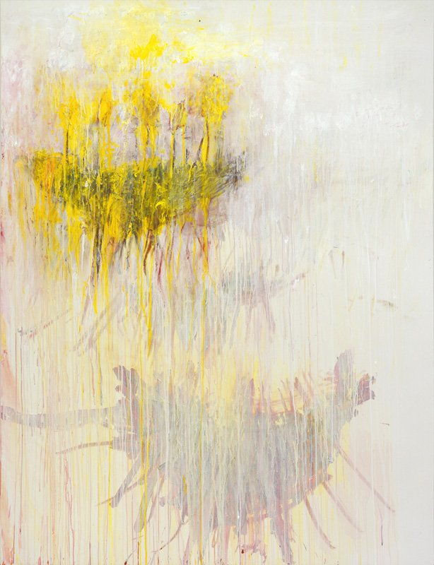 Cy Twombly Coronation of Sesostris 2000, panel 7