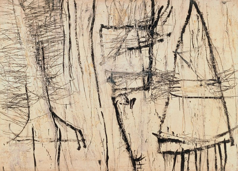 Cy Twombly Tiznit 1953
