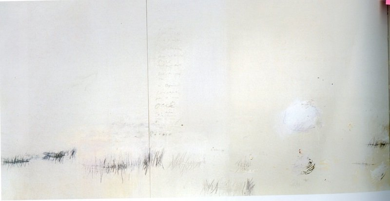 Cy Twombly Untitled (Say Goodbye, Catullus, to the Shores of Asia Minor) 1994