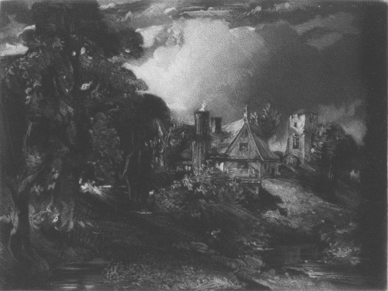 David Lucas after John Constable The Glebe Farm 1832