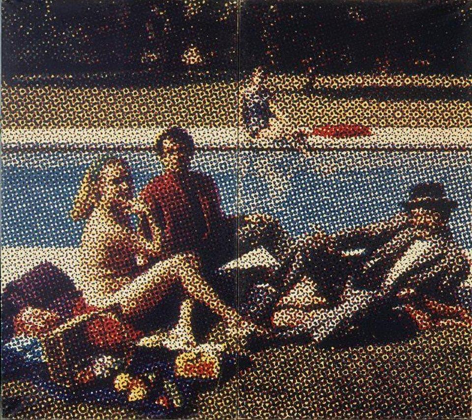 Alain Jacquet, Dejeuner sur l'herbe 1964