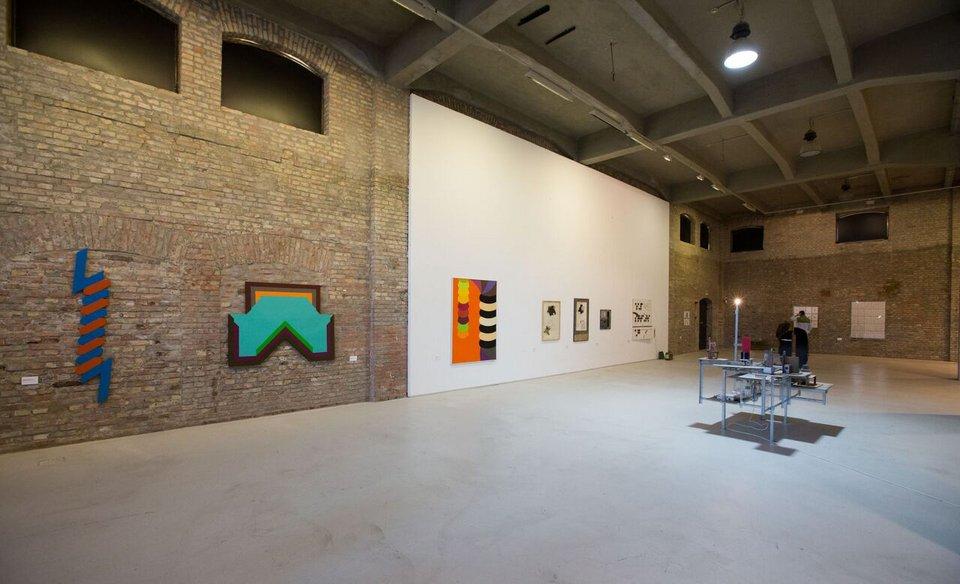 Installation shot of Bookmarks exhibition, OFF-Biennale, 2015