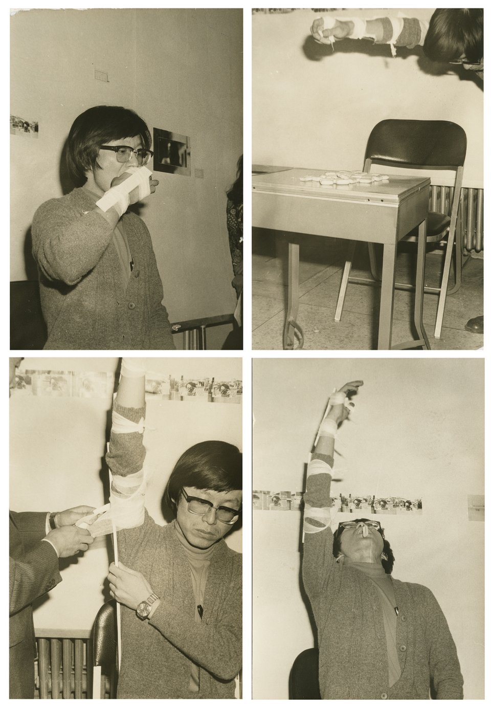 Lee Kun-yong Eating Hardtack 1975