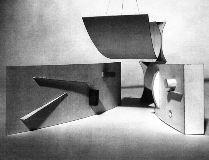 Model of the Group Ten pavilion in This is Tomorrow 1956