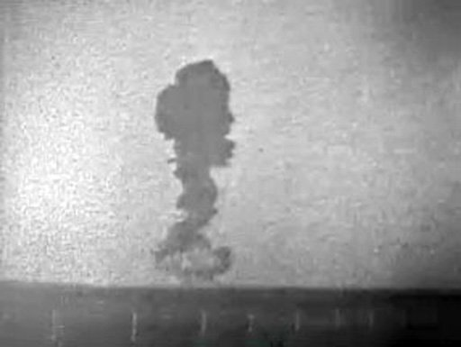 French Atomic Explosion 1960 Television footage 27 December 1960