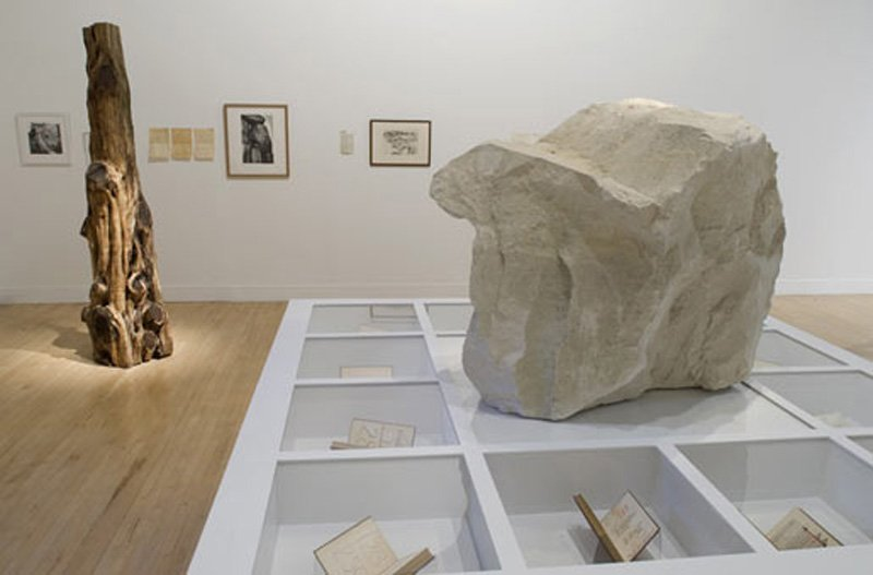 GGoshka Macuga Objects in Relation 2007, as shown in Tate Britain 2007