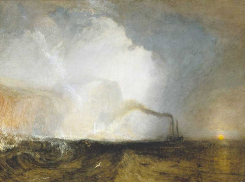 J.M.W. Turner Staffa, Fingal's Cave exhibited 1832