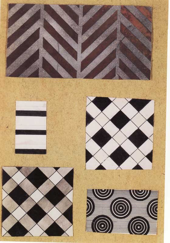 Liubov Popova Fabric Designs