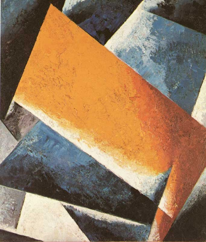Liubov Popova Painterly Architectonic 1918