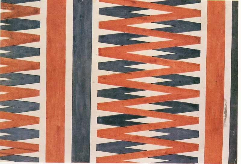 Liubov Popova Textile Design 1923–4