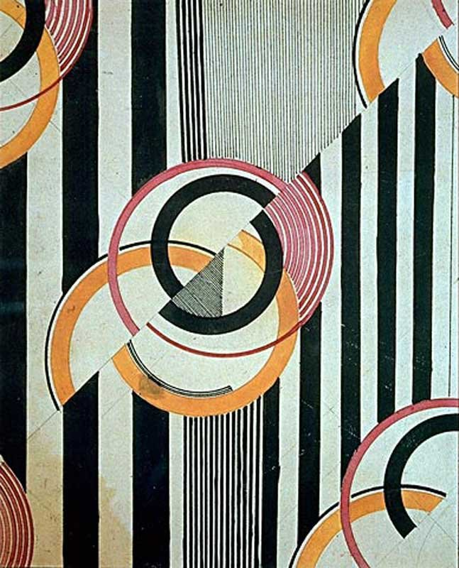 Abstract Painting On Fabric Fashion Designers