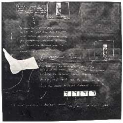 Tacita Dean Sixteen Blackboards (Board 3) 1992