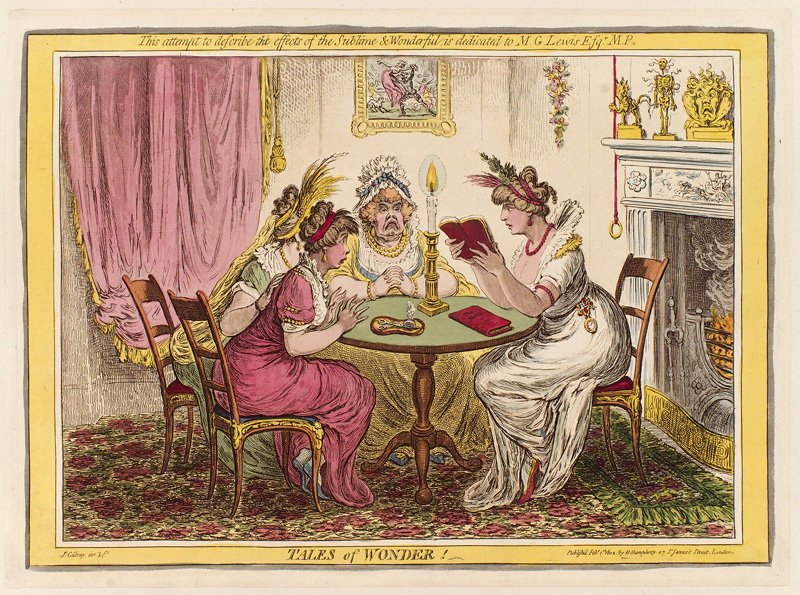 James Gillray Tales of Wonder published 1802