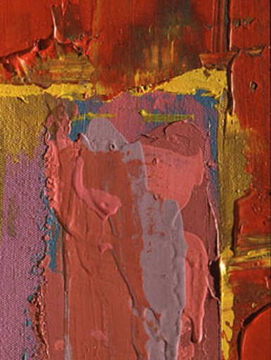 John Hoyland Saracen 1977 detail Acrylic emulsion on canvas Taken in raking light from the right