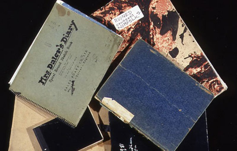 John Piper Notebooks and sketchbooks from the John Piper Archive