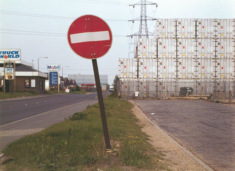 Keiller View of Oliver Road, West Thurrock in Robinson in Space 1997
