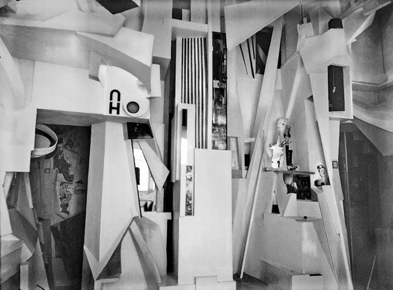 Kurt Schwitters Merzbau 1933