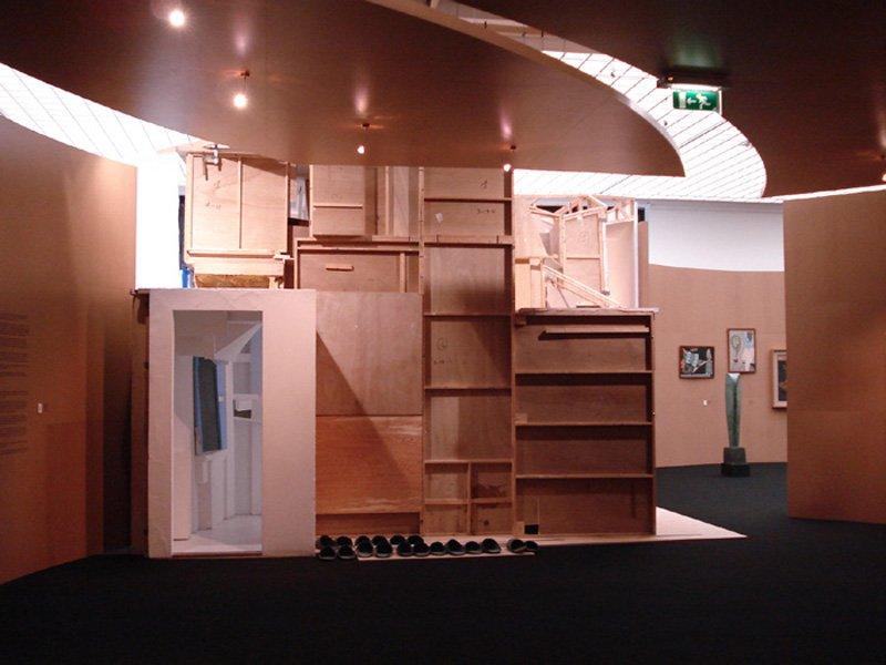 Merzbau, travelling version 1988 Reconstruction in the Museum Boijmans van Beuningen, Rotterdam 2007