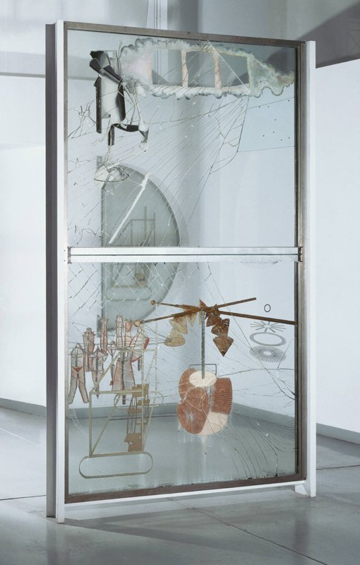 Marcel Duchamp The Bride Stripped Bare by her Bachelors, Even (The Large Glass) 1915–23