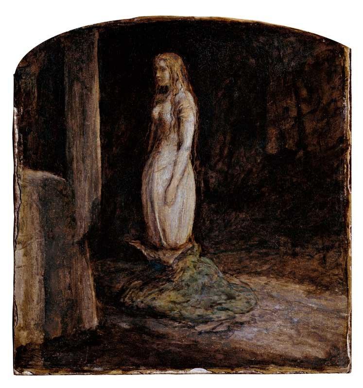 John Everett Millais The Eve of St Agnes 1850