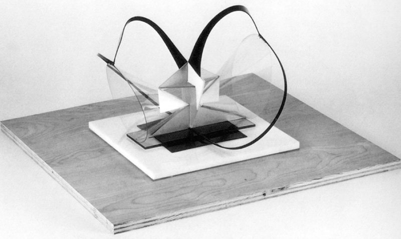 Naum Gabo Construction in Space Two Cones