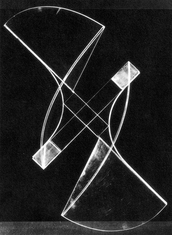 Naum Gabo Square Relief lost original (c.1920, this version 1937)