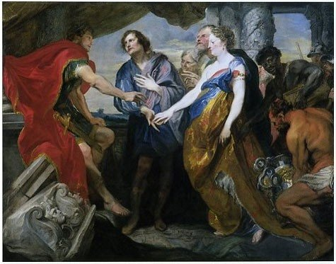 Anthony van Dyck The Continence of Scipio 1620–1