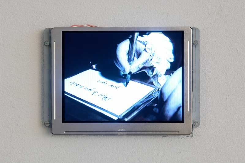 Philippe Parreno The Writer 2007
