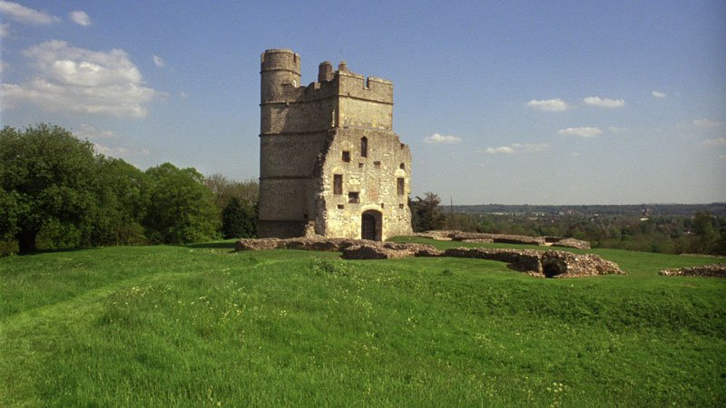Patrick Keiller Donnington Castle in Robinson in Ruins 2010