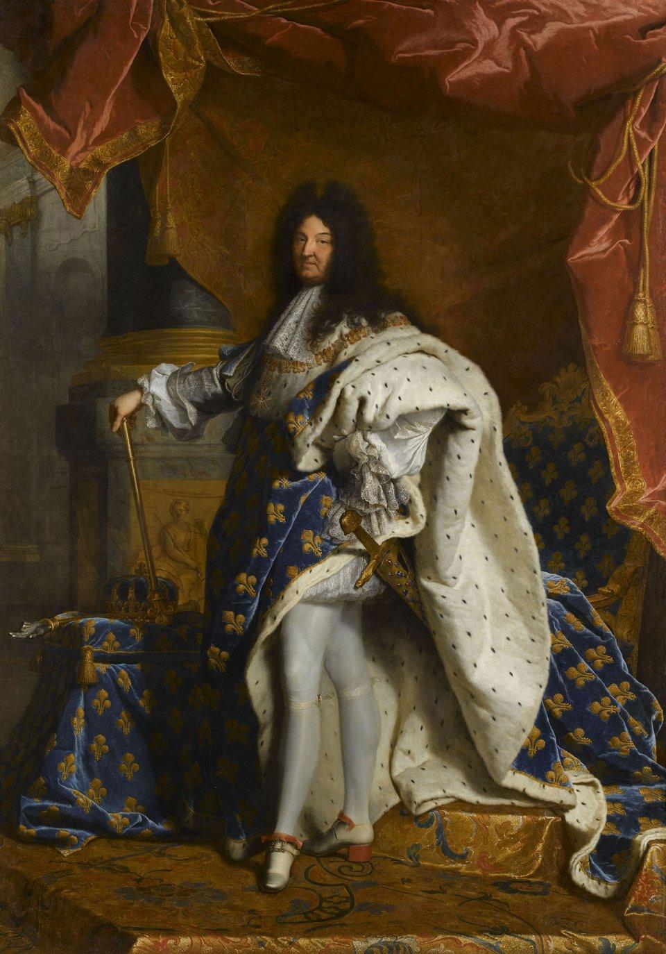 Hyacinthe Rigaud Portrait of Louis XIV 1701