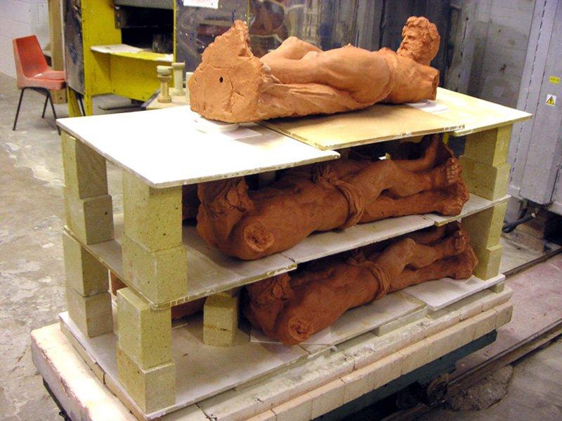 Simon Starling Drop Sculpture (Work in Progress)