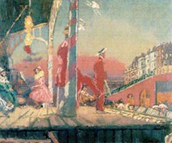 Walter Richard Sickert Brighton Pierrots 1915