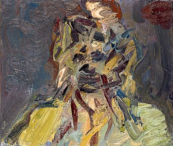 Frank Auerbach, Head of Catherine Lampert 1988