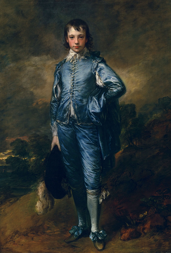 The Blue Boy, Thomas Gainsborough, c. 1770.