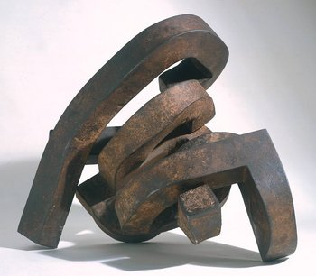 Eduardo Chillida Modulation of Space I 1963