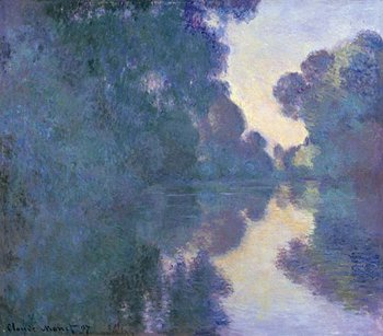 Claude Monet Morning on the Seine near Giverny 1897