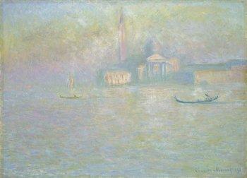 Claude Monet, Saint-Georges Majeur 1908 (San Giorgio Maggiore)