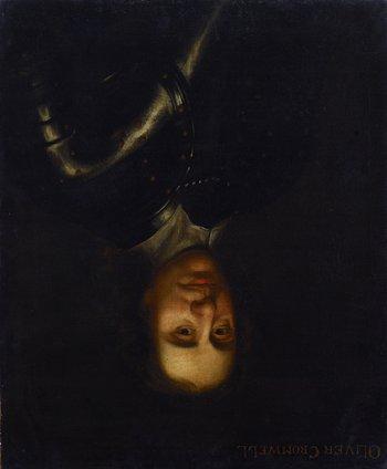 British School Portrait of Oliver Cromwell
