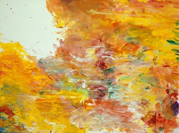 Cy Twombly Untitled (Sunset) 1986