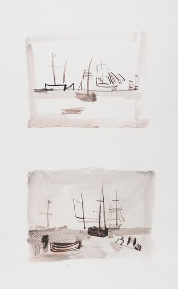 Rachel Sopher After Turner Boats at Cowes circa 1827