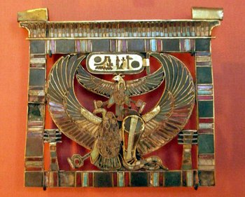 19th-dynasty Pectoral of Ramses II c.1279–1213 BC