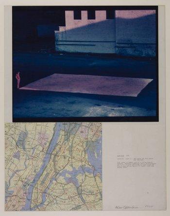 Dennis Oppenheim, Salt Flat 1968
