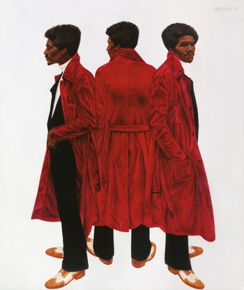 Barkley L. Hendricks, Sir Charles, Alias Willie Harris 1972