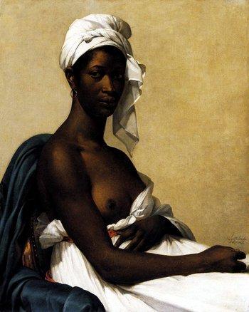 Marie-Guillemine Benoist, Portrait of a Negress 1800
