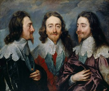 Anthony van Dyck, Charles I in Three Positions 1635–6
