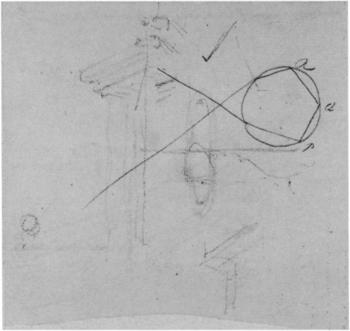 John Constable Rainbow diagram c.1832–6, verso of sheet 'B'