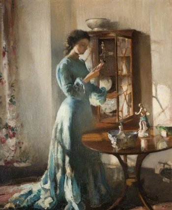 Henry Tonks The China Cabinet c.1902