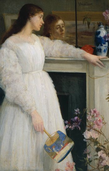 James Abbott McNeill Whistler Symphony in White, No.2: The Little White Girl 1864