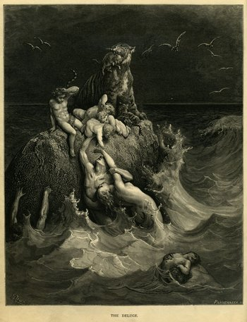 Gustave Doré, The Deluge 1866
